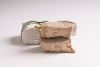 Goat's cheese matured in Fossa Dairy Lagundo approx. 950 gr.