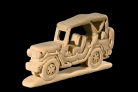 Jeep 3D-Puzzle in Naturholz - Dolfi