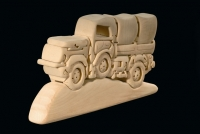 Truck 3D-Puzzle in natural wood - Dolfi