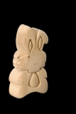Hase Rabbit 3D-Puzzle in Naturholz - Dolfi