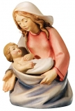 Maria Nativity Leonardo - Dolfi Wood Sculptures Val Gardena