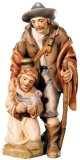 Sheperd and child Nativity Raffaello - Dolfi Sculptures