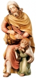 Sheperd with child Nativity Matteo - Dolfi Wood Carvings