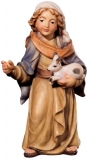 Young Sheperd with hare Nativity Matteo - Dolfi Carvings