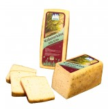 Herb cheese alpine dairy Three Peaks approx. 500 gr.