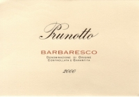 Barbaresco DOCG - 2012 - Alfredo Prunotto