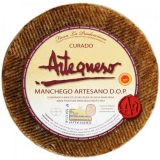 Cured Sheep Cheese 'DO Manchego' app. 3 kg - Artequeso
