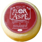 Semi-Cured Mixed Cheese - Cheese of the Pyrenees app. 3 kg. - Flor del Aspe