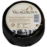 Semi-Cured Mixed (Cow / Sheep) Cheese app. 3 kg - Villa Corona