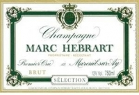 Champagne Brut Selection 1er Cru NV Magnum 1,5 l - Hebrart Marc