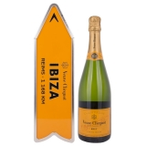 Veuve Clicquot Champagne Brut Yellow Label Arrow Box Edition + GB 12,00 % 0.75 l.