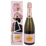 Veuve Clicquot Champagne ROSÉ Brut End of the Year Edition + GB 12,50 % 0.75 l.