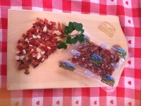 Bacon Speck cubes Grammhof Sarntal L. Moser approx. 150 gr.