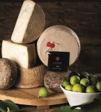 Pecorino cheese with figs approx. 1.0 kg. - Rocca Toscana Formaggi
