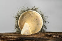Sextner Hay Milk cheese with thyme whole loaf appr. 1,2 kg. - Cheese Dairy Sesto