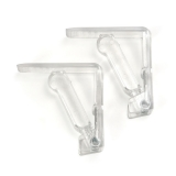 Table Cloth Holders PC 4 pieces - translucent Art. 18000 - Ardigas