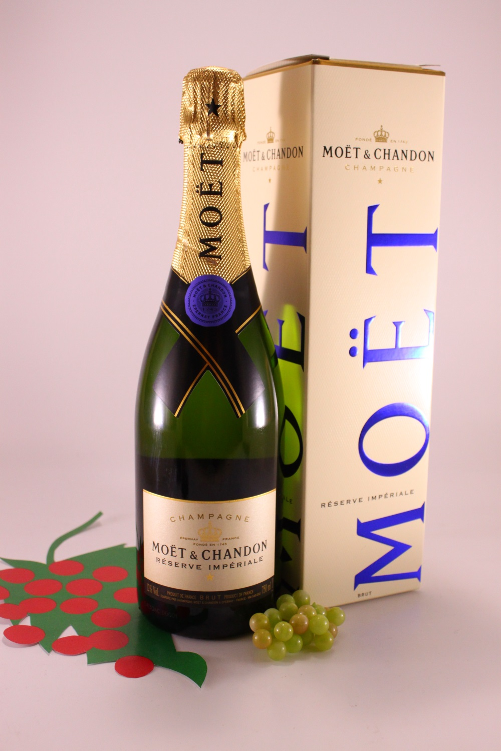 Champagne Moet & Chandon Reserve Imperiale Boll. Blu - Moet & Chandon