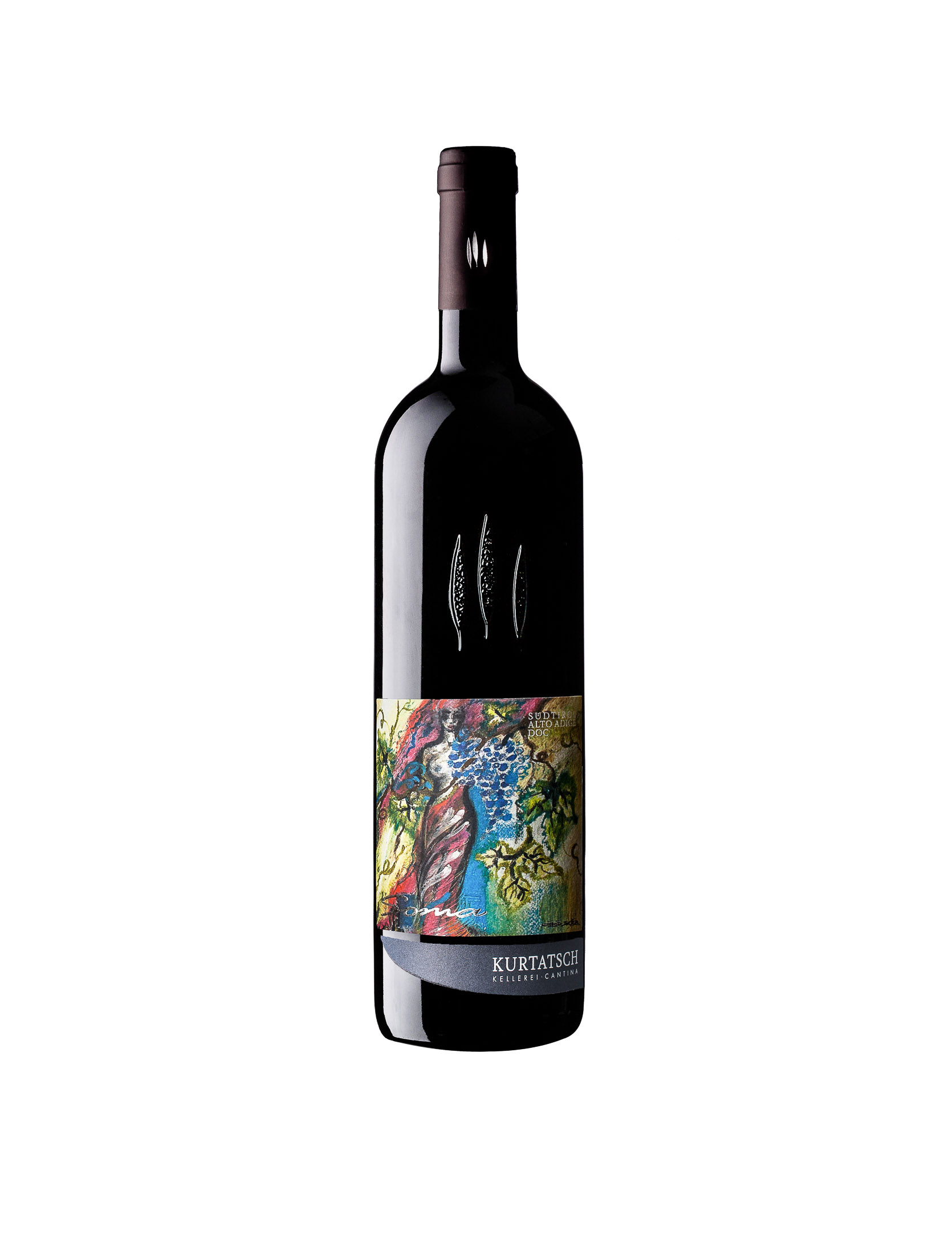 Merlot - Cabernet Soma 5 liters - 2015 - Winery Cortaccia