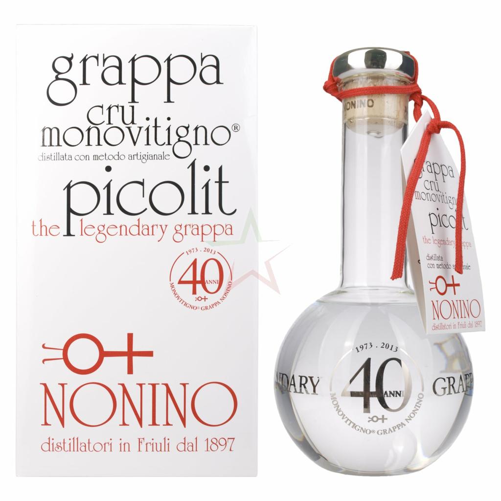 Nonino Grappa The Legendary Cru Monovitigno Picolit 50 00 0 50 Liter H H Shop