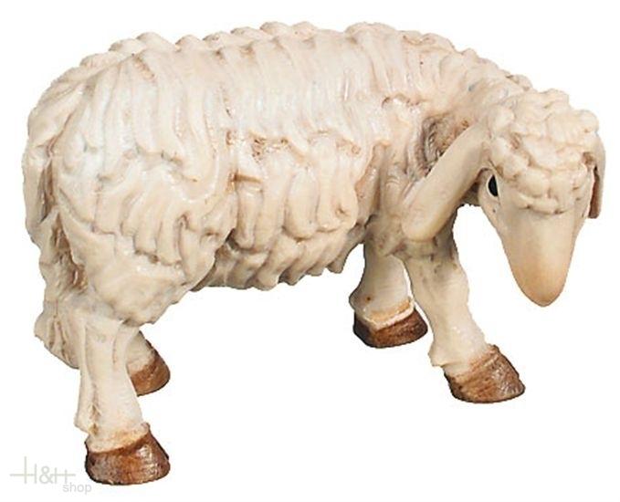 Schaf stehend Krippenfigur Raffaello Dolfi Holzkrippen