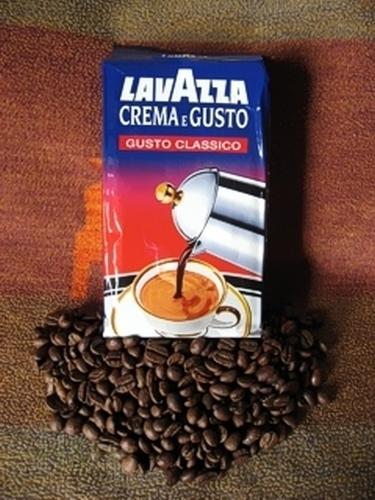 kaffee espresso lavazza crema e gusto gemahlen 250 gr h h shop. Black Bedroom Furniture Sets. Home Design Ideas