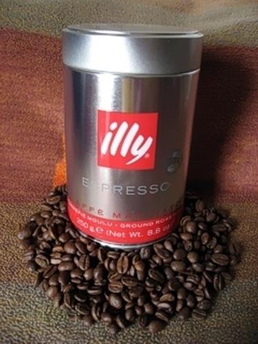kaffee espresso illy gemahlen 250 gr h h shop. Black Bedroom Furniture Sets. Home Design Ideas