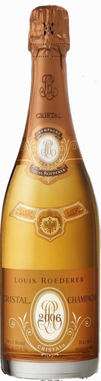 cristal rose 2007 champagne louis roederer h h shop. Black Bedroom Furniture Sets. Home Design Ideas