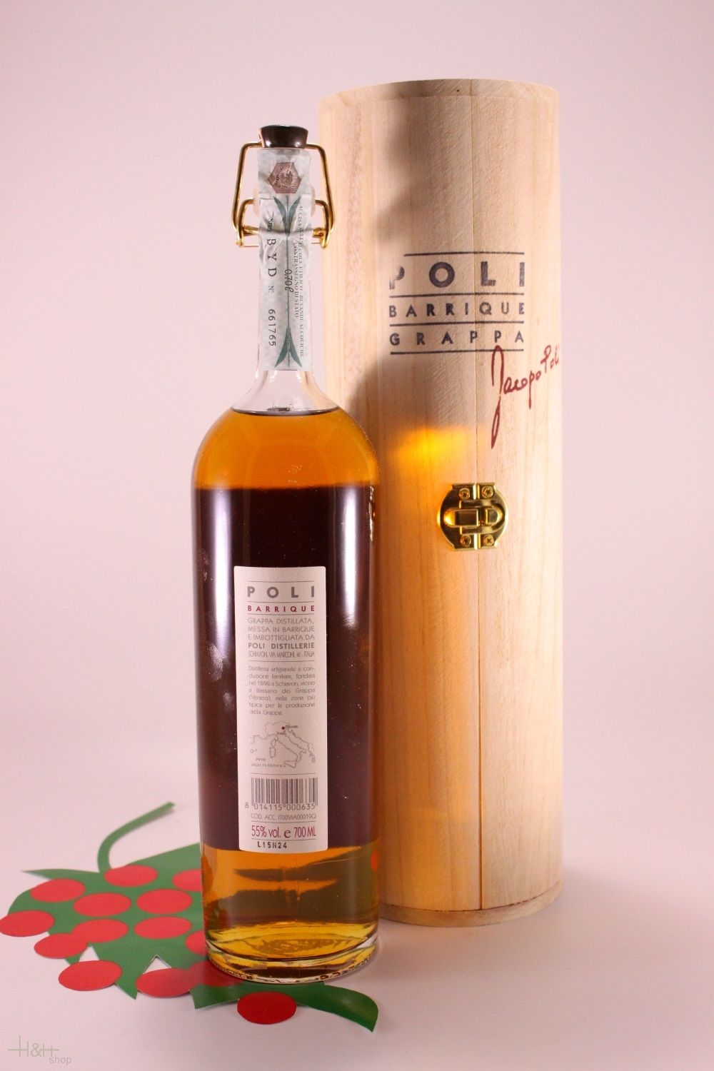 Grappa Poli Barrique