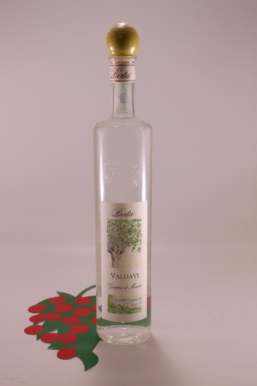 Moscato Valdavi 40 % 70 cl. - Distillery Berta
