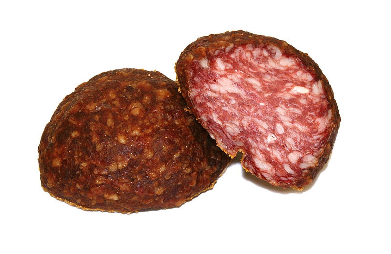 mortandela ger uchert salami ohne schale ca 250 gr kofler speck ebay. Black Bedroom Furniture Sets. Home Design Ideas