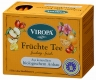 Fruit tea organic 15 tea bags - Viropa