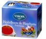 Rose Hip & Hilberry Fruit tea 15 tea bags - Viropa