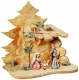 Nativity Set Matteo with holy family coloured - Dolfi