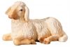 Lying Sheep Nativity Leonardo - Dolfi Wood Carving