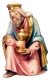 Kneeling King Nativity Raffaello - Dolfi Sculptures
