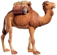 Camel with Saddle Nativity Raffaello - Dolfi Sculptures