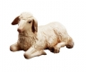 Lying sheep Nativity Matteo - Dolfi Wood Carvings
