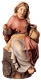 Sitting Sheperd Nativity Matteo - Dolfi Carvings