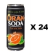 Oransoda 24 can x 330 ml. - Terme di Crodo Aperitivo Orange Soda