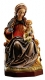 Wood Sculpture Madonna of the Light coloured - Dolfi