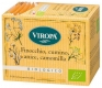 Fennel, Caraway, Anise, Chamomile Blossom tea organic 15 tea bags - Viropa