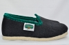 Slipper High Black/Dark Green Size 35 - Alpenecke