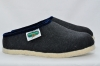 Slipper Black/Light Blue Size 40 - Alpenecke