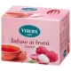Litchi Fruit tea 15 tea bags - Viropa