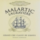Chateau Malartic Lagraviere rouge - 2008 -