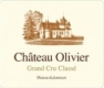 Chateau Olivier rouge - 2012 -