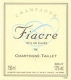 Fiacre  - 2012 - Champagne Chartogne Taillet