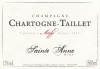 Champagne St. Anne Brut NV - Chartogne Taillet