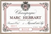 Champagne Rose Brut 1er Cru NV - Hebrart Marc