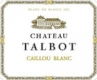 Caillou blanc  - 2016 - Chateau Talbot